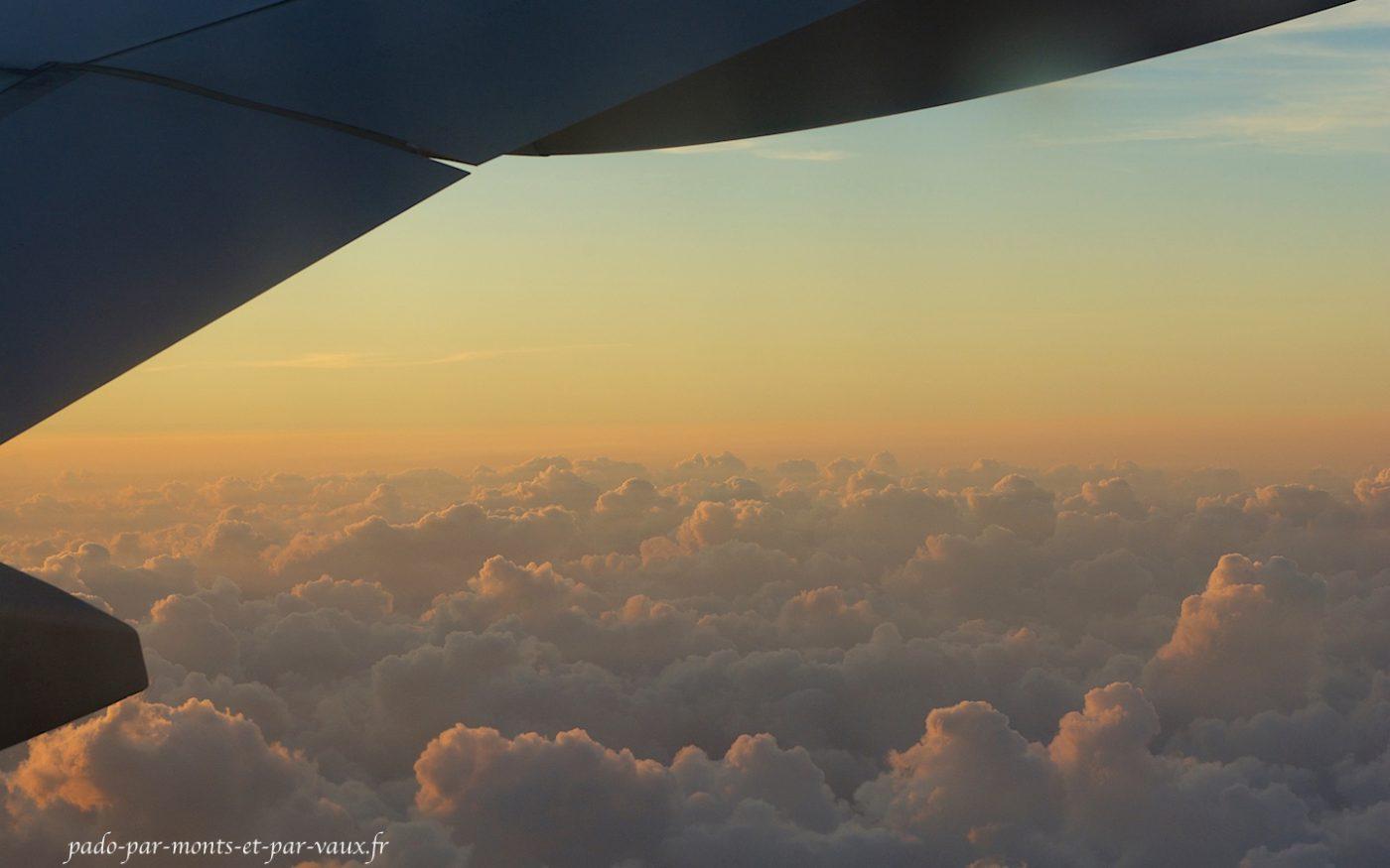 En vol vers le Costa Rica
