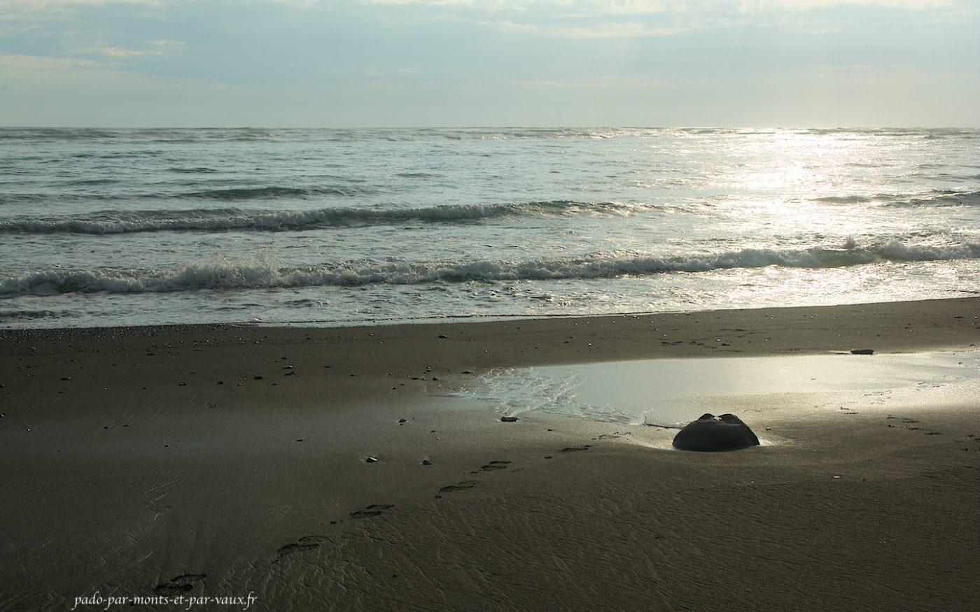 Coucher de soleil près de la Sirena