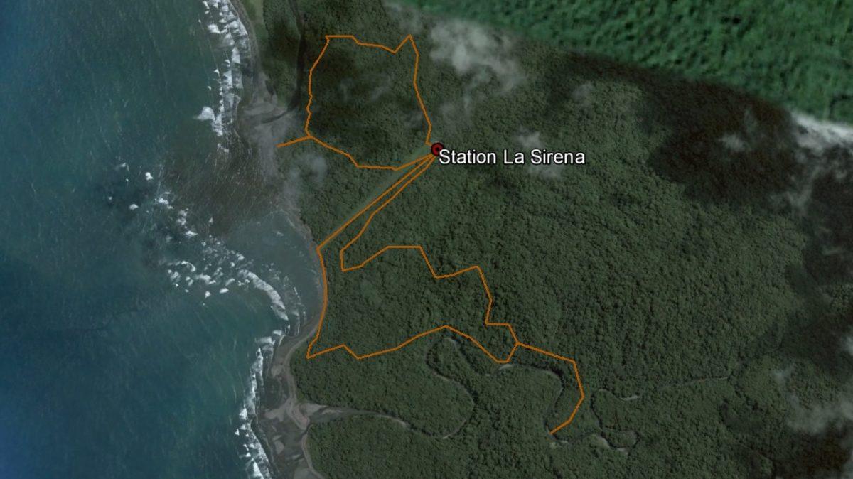 Autour de la Sirena