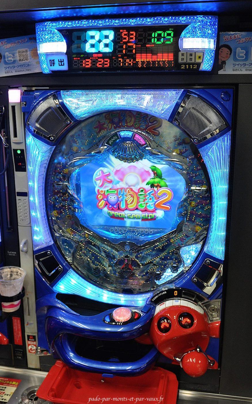 Shibuya machine à Pachinko