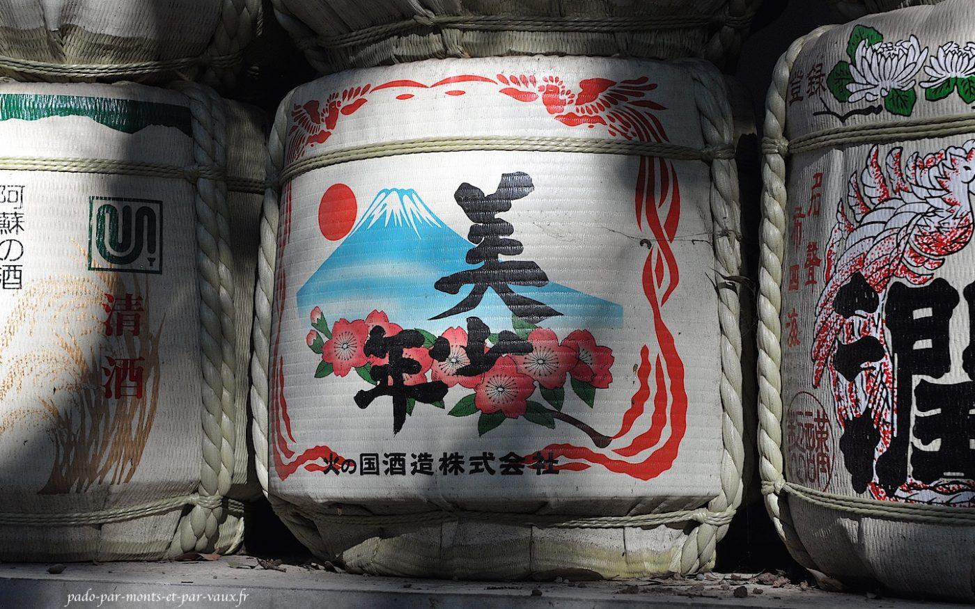 Tonneau de saké