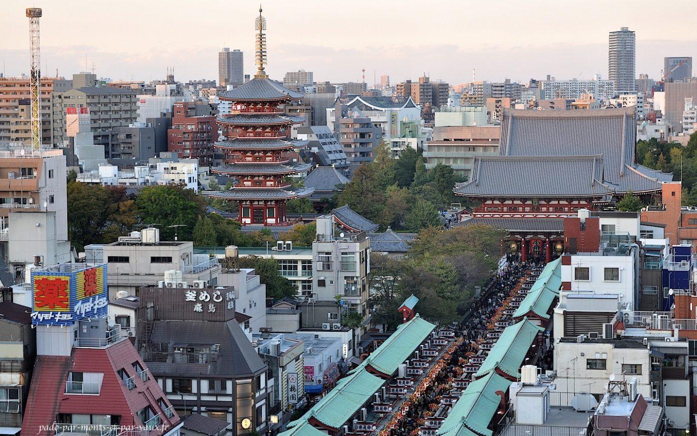 Asakusa - pagode et Nakamise dori