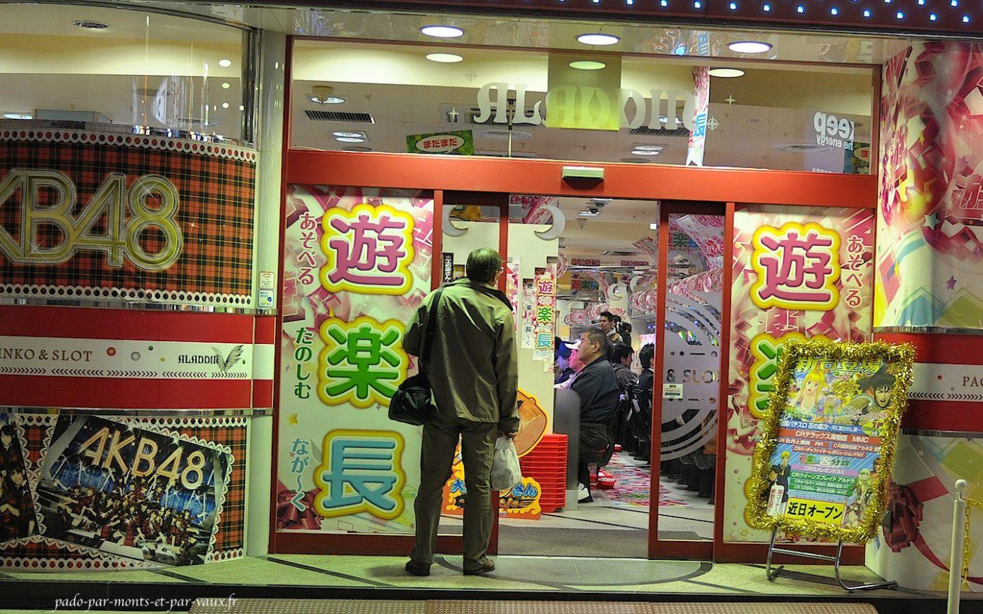 Shinjuku - salle de jeu