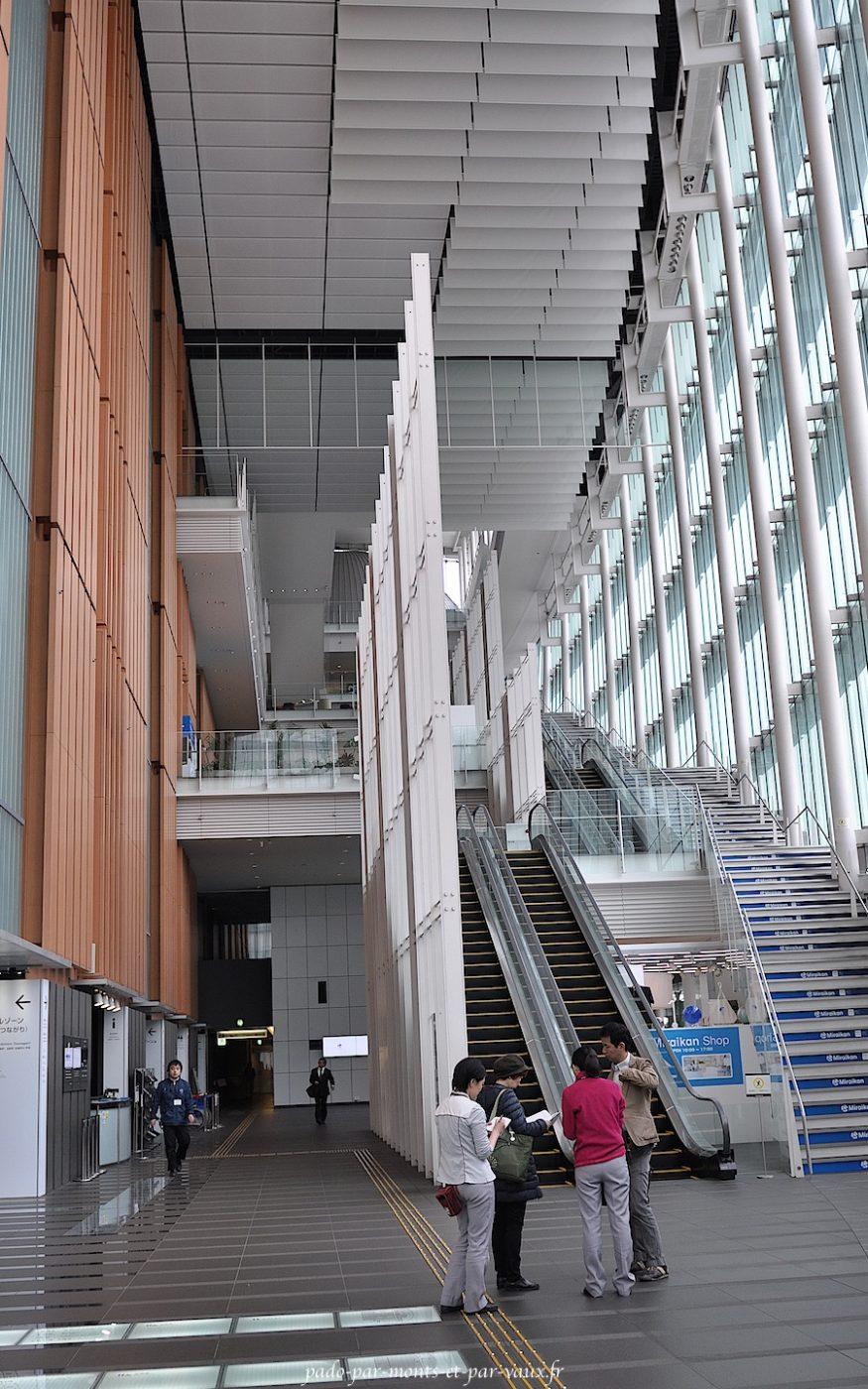 Intérieur du Miraikan