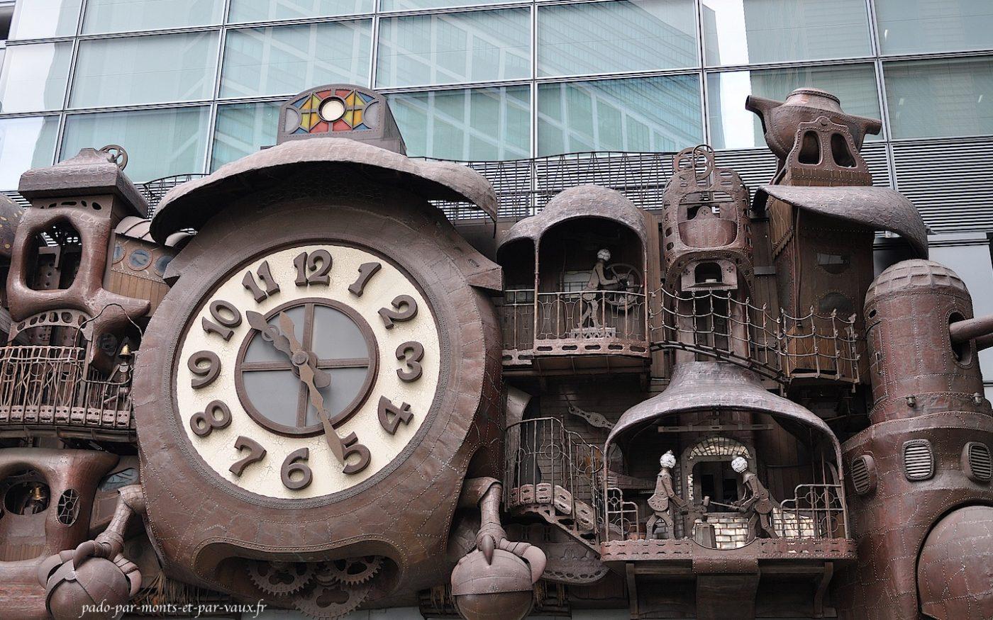Shimbashi horloge