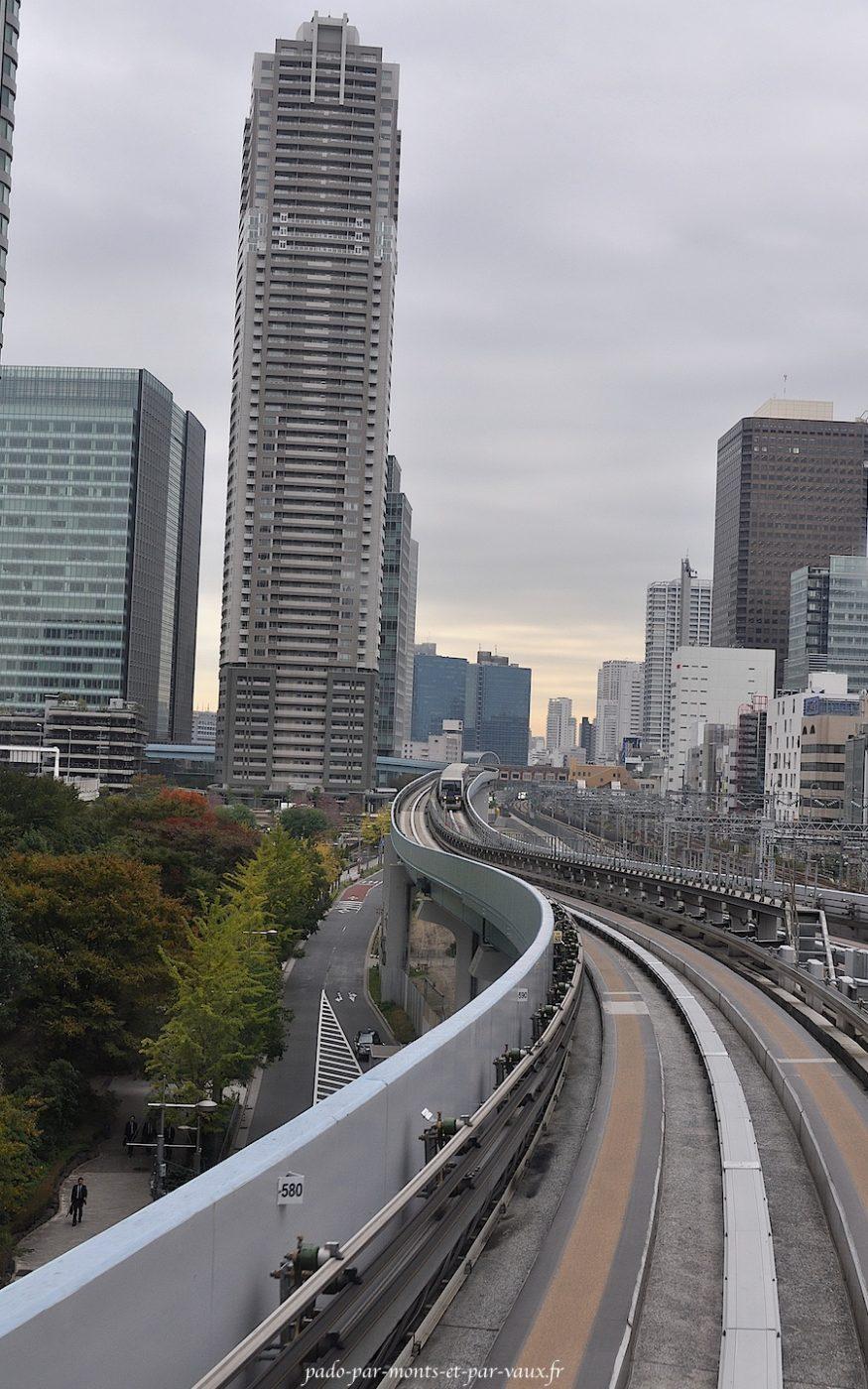 Métro aérien pour Odaiba