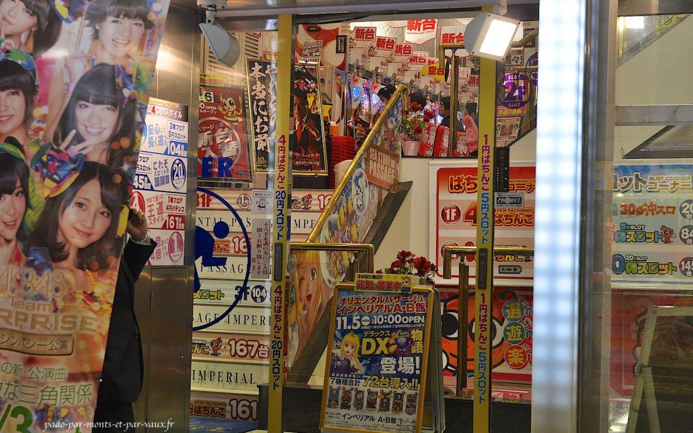 Ameyoko salle de jeu