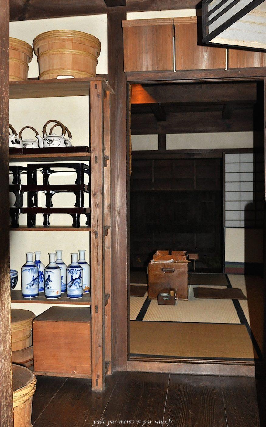 Fukagawa Edo museum intérieur d'une maison