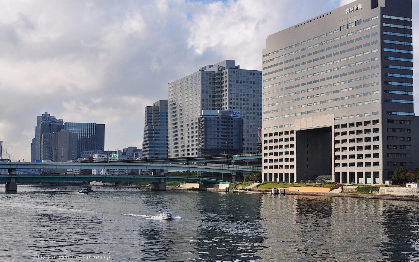 Traversée de la Sumida