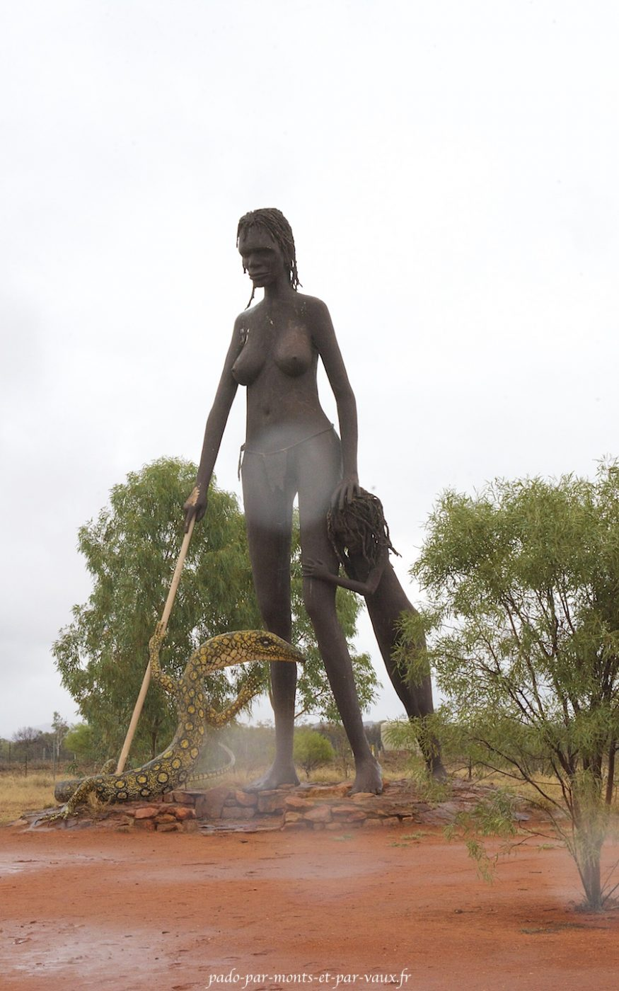 Aileron - Statue de Mark Eagan