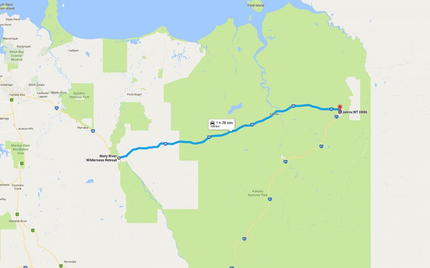 Mary River - Jabiru