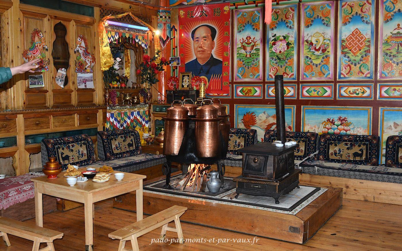 Maison tibétaine