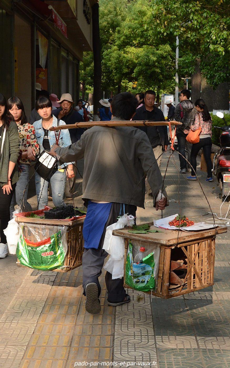 Kunming dans la rue