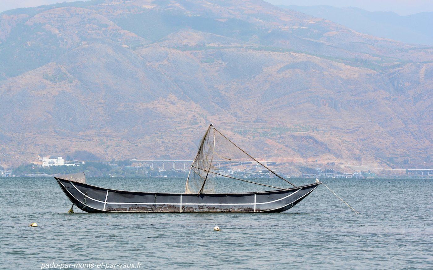 sur le lac Erhai