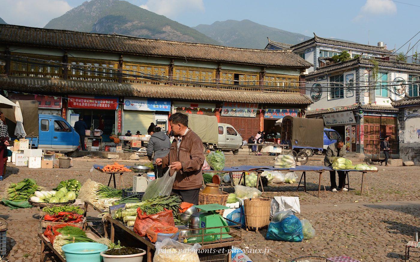 Marché de Zhoucheng