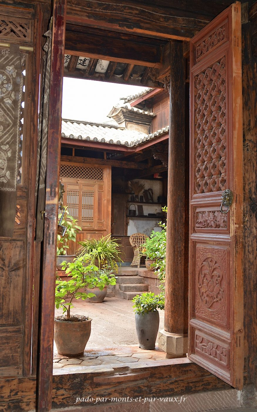 Shaxi - Laomadian lodge