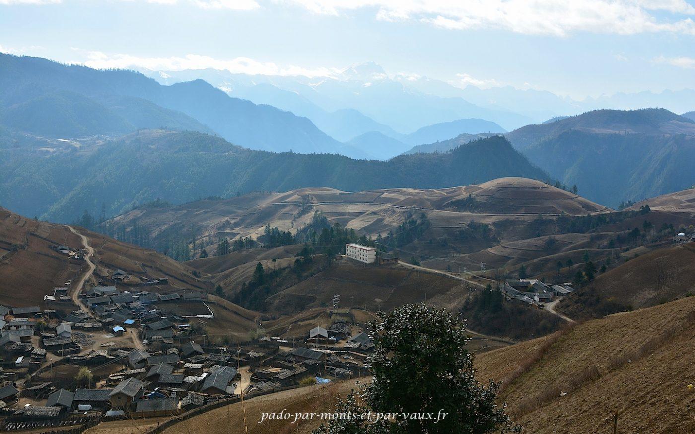route vers Lijiang