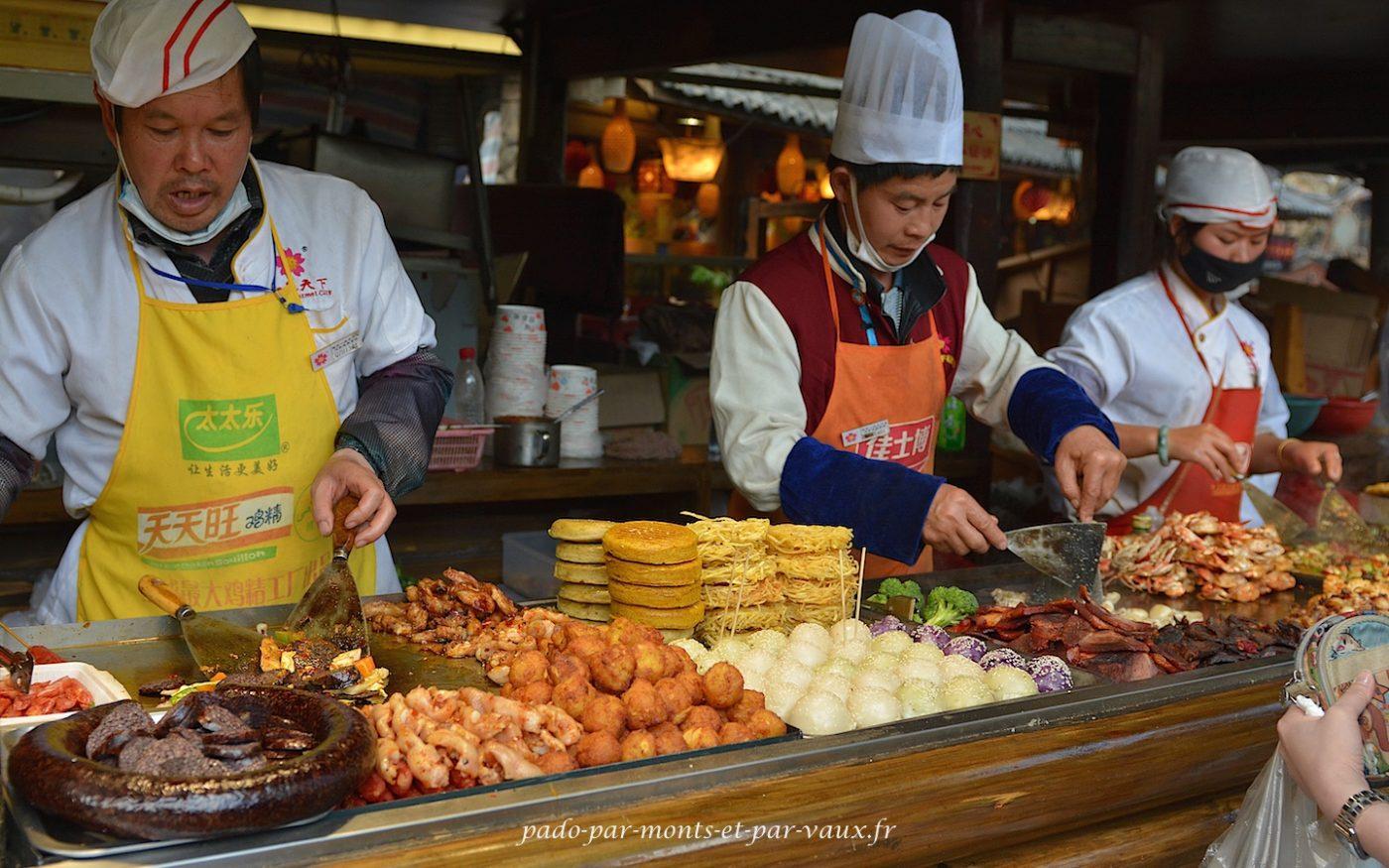 Cuisine de rue Lijiang