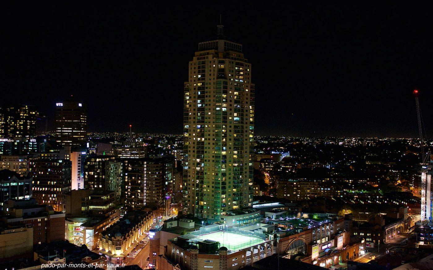 Sydney depuis notre logement