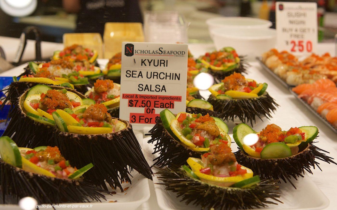 Sydney marché au poisson