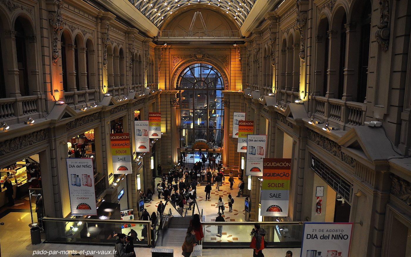 Buenos Aires - Galerias pacifico