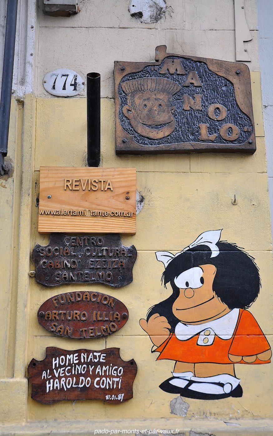Buenos Aires - San Telmo - Mafalda