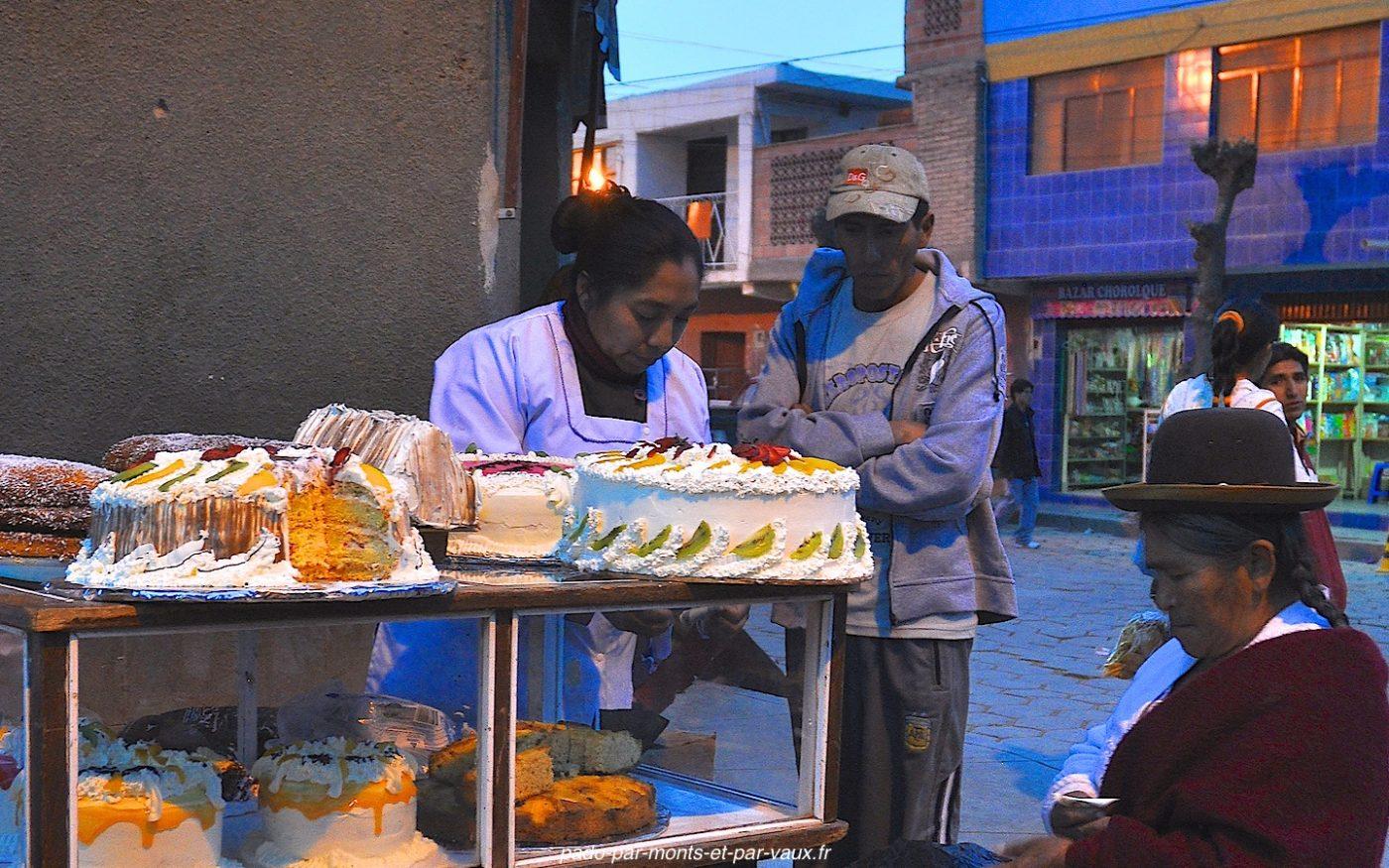 Gâteaux - Bolivie