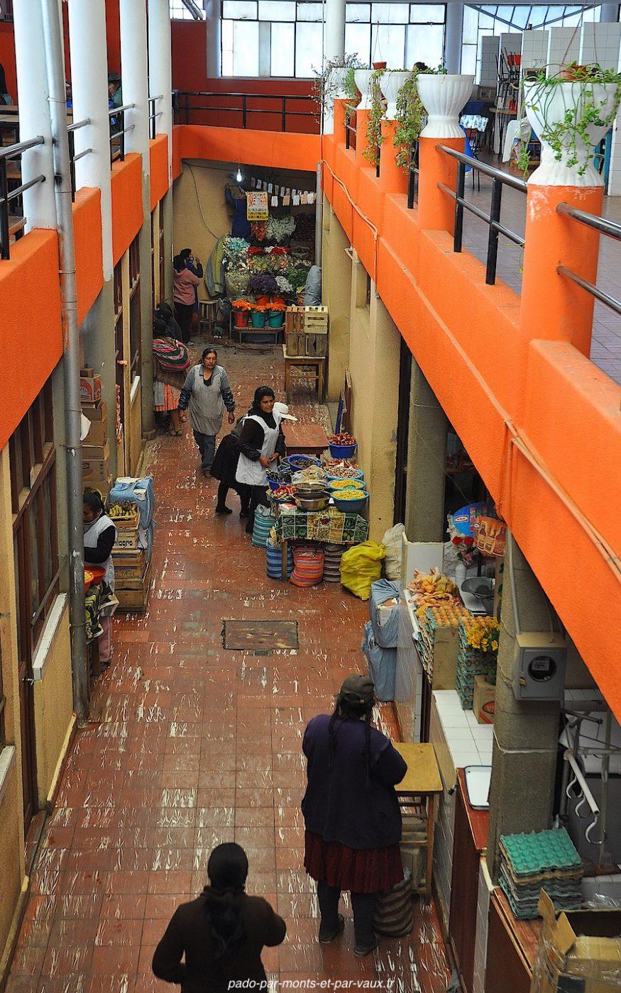 Tupiza marché couvert