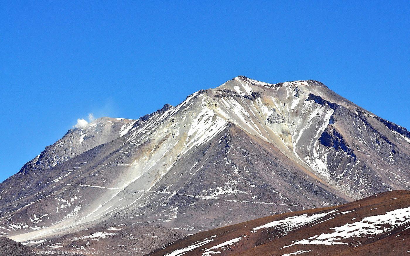Belvedere du volcan Ollague