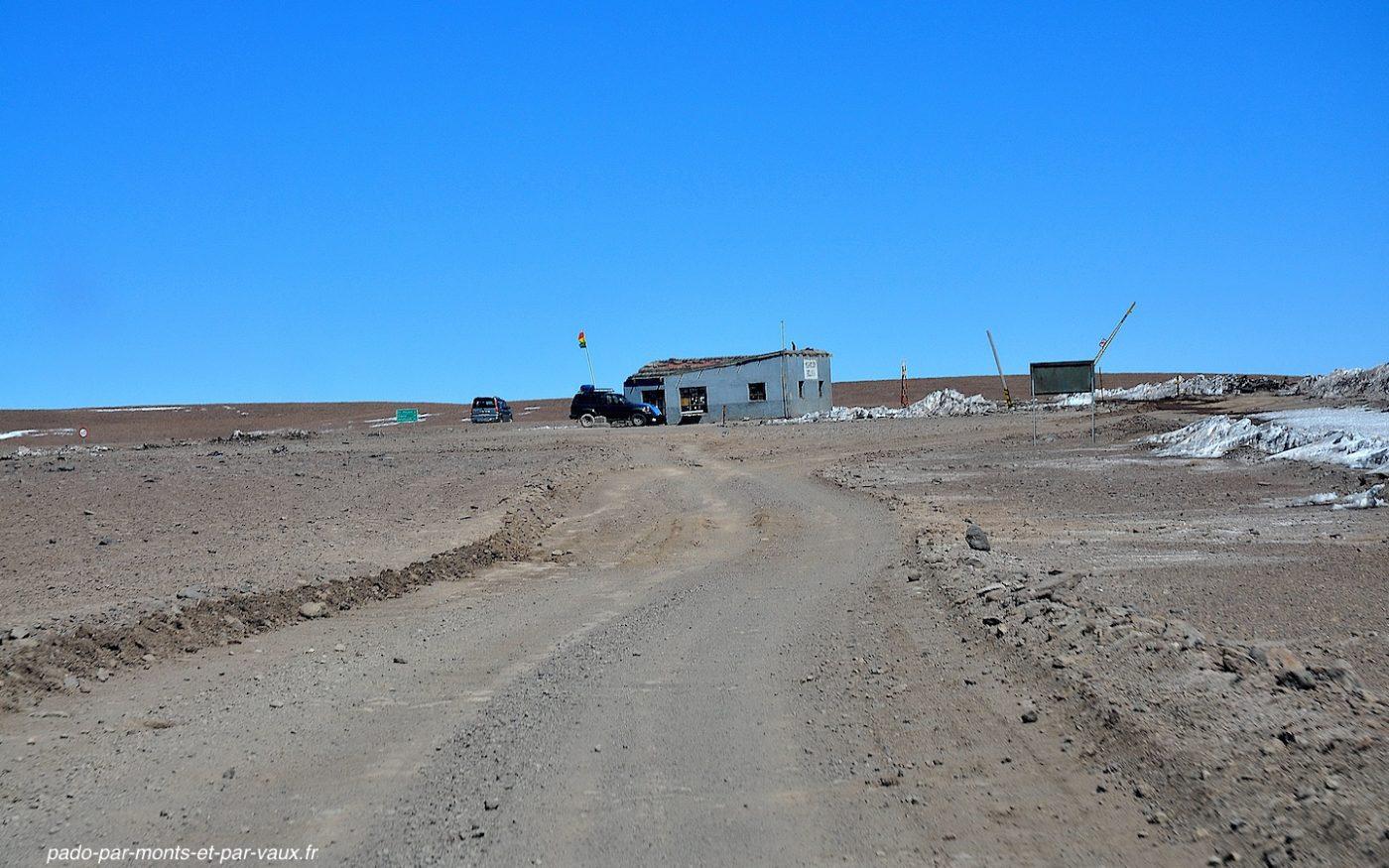 Poste frontière bolivie-chili