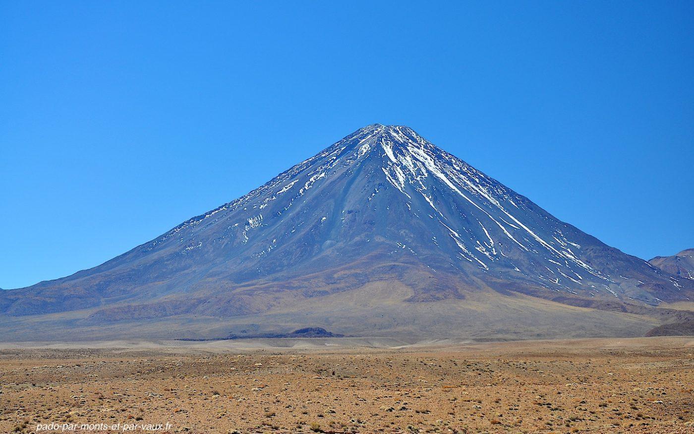 Volcan Licancabur côté chilien