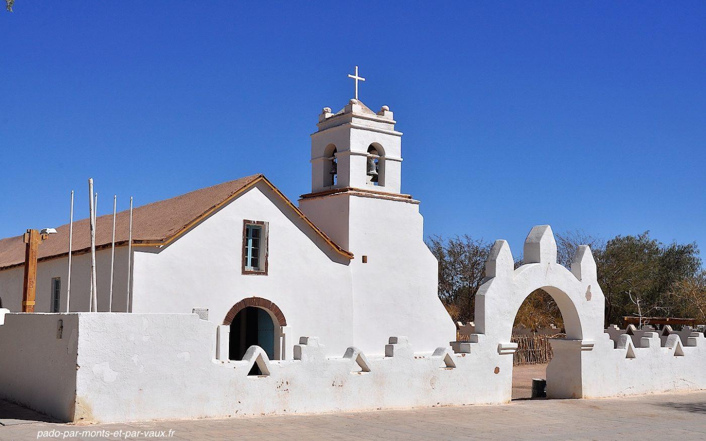 San Pedro d'Atacama - Eglise