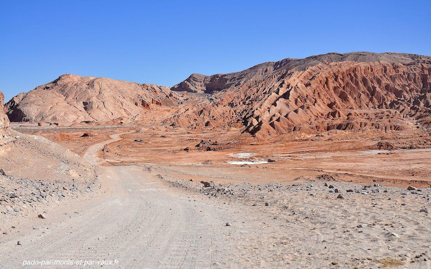 Désert d'Atacama - Vallée de la mort