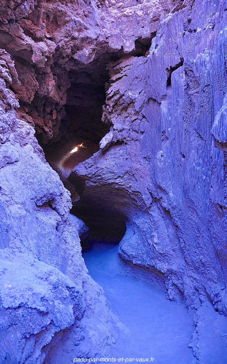 Désert d'Atacama - Vallée de la lune - Canyon du sel