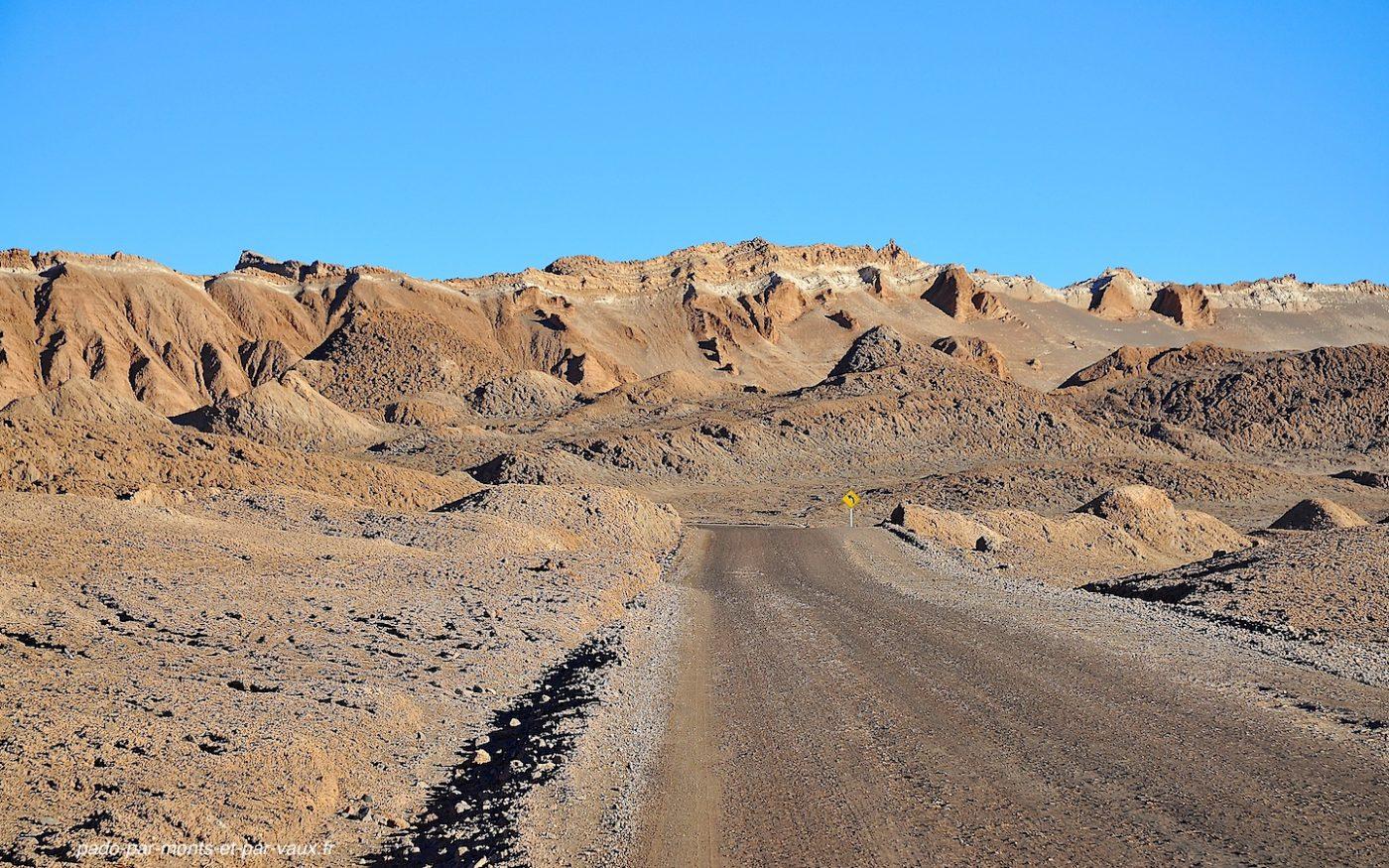 Désert d'Atacama - Vallée de la lune