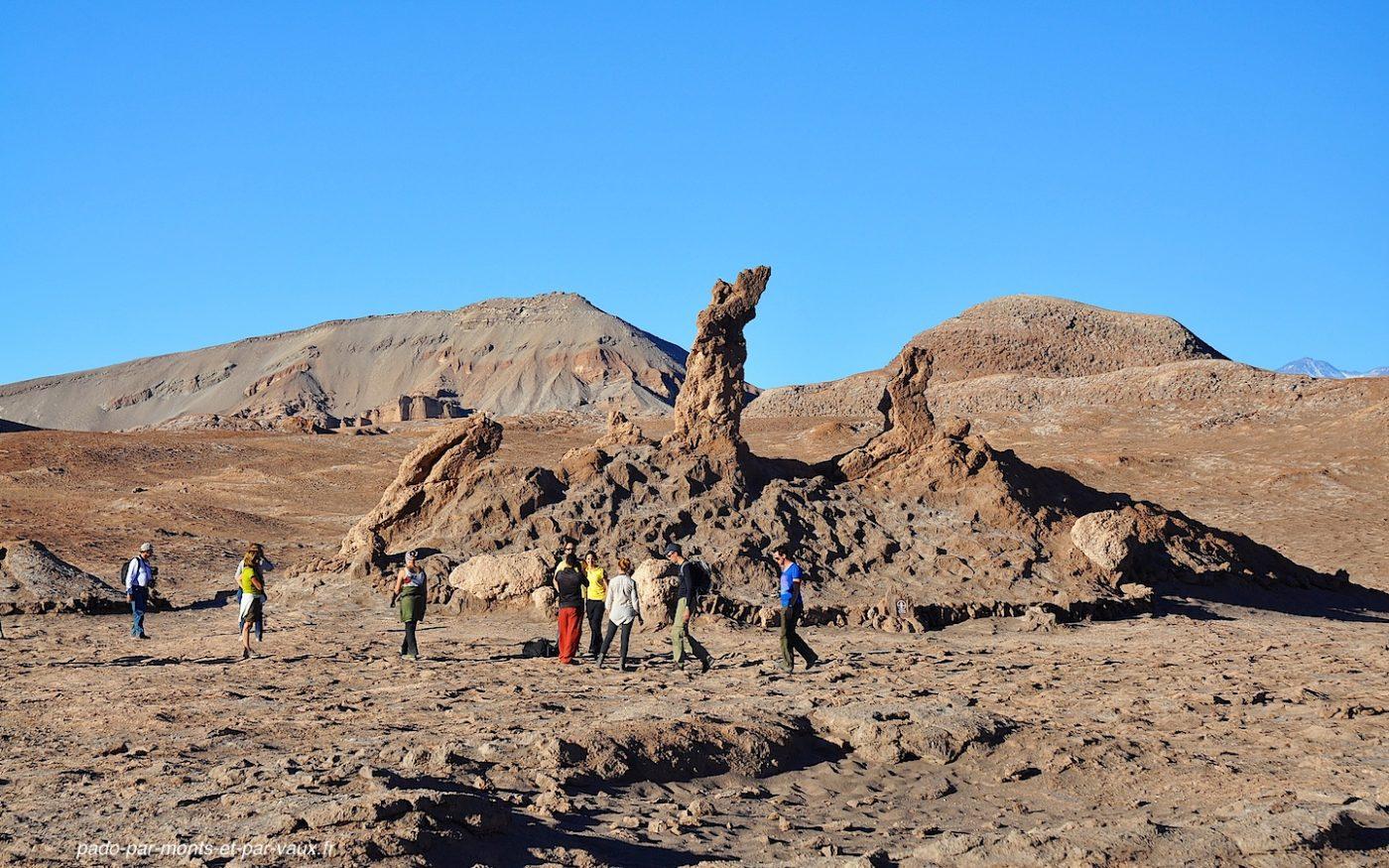 Désert d'Atacama - Vallée de la lune - Tres marias