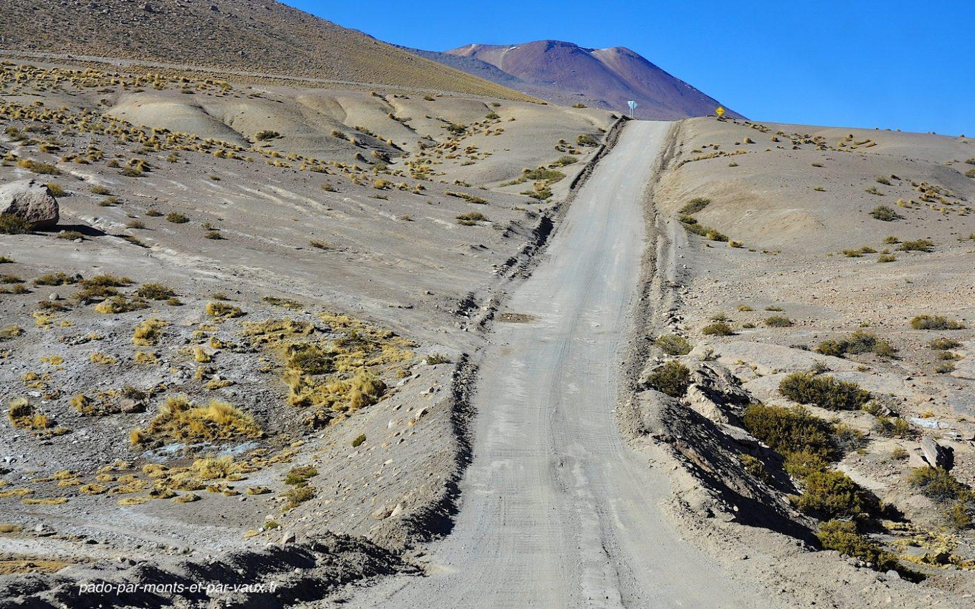 route vers San Pedro