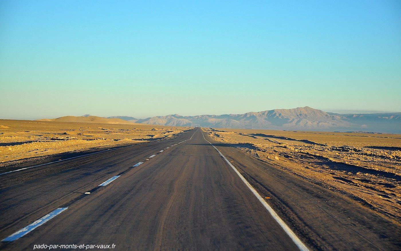 Route San Pedro - Calama