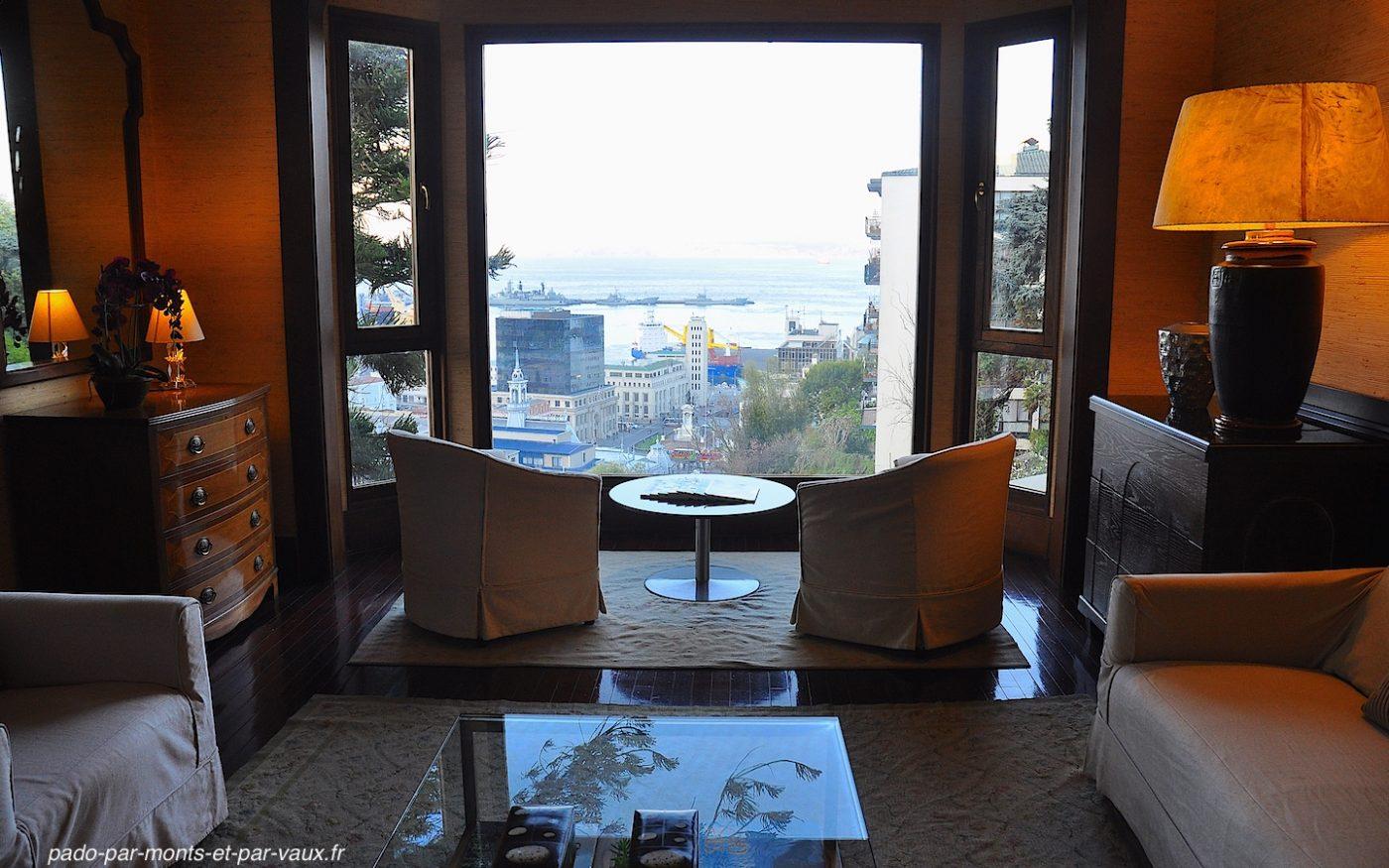 Valparaiso - hôtel Casa Higueras