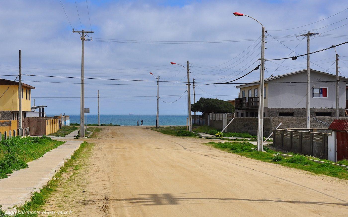 route Santiago - Valparaiso