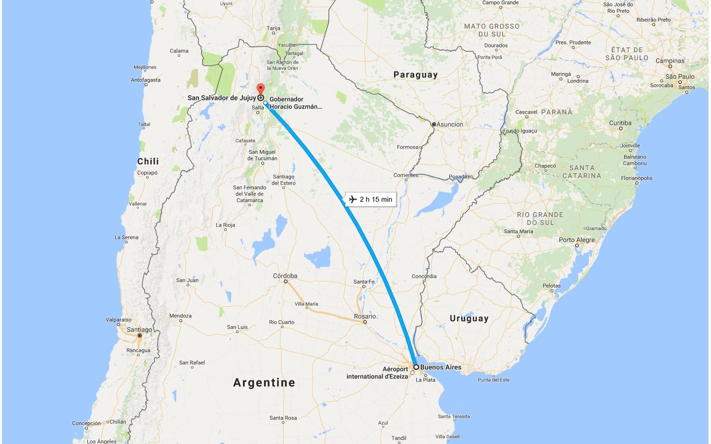 Buenos Aires - Salta