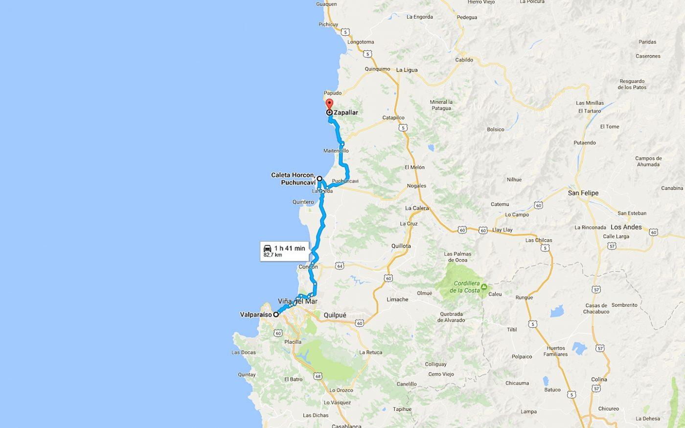 environs de Valparaiso