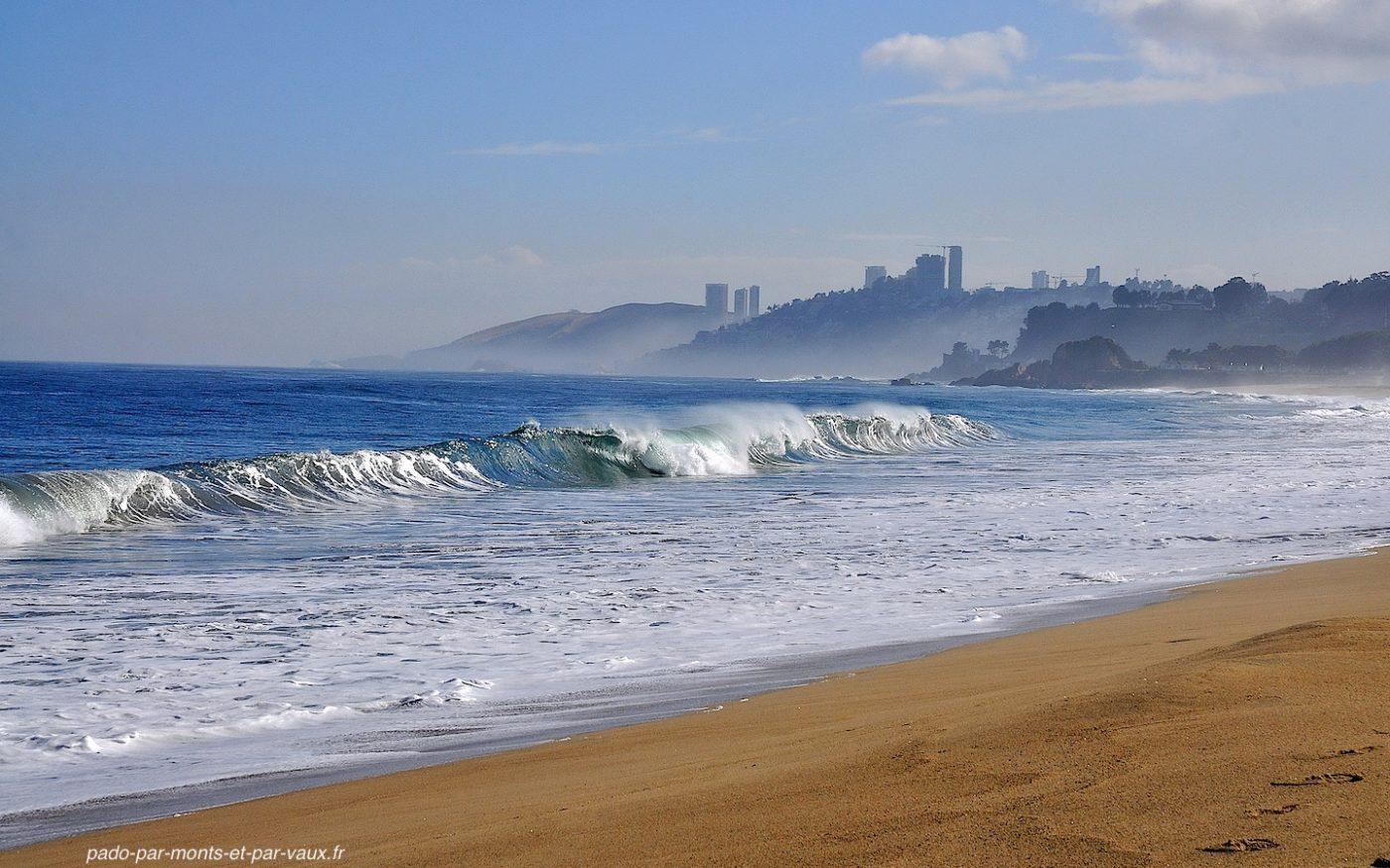 pacifique vers Vina del Mar