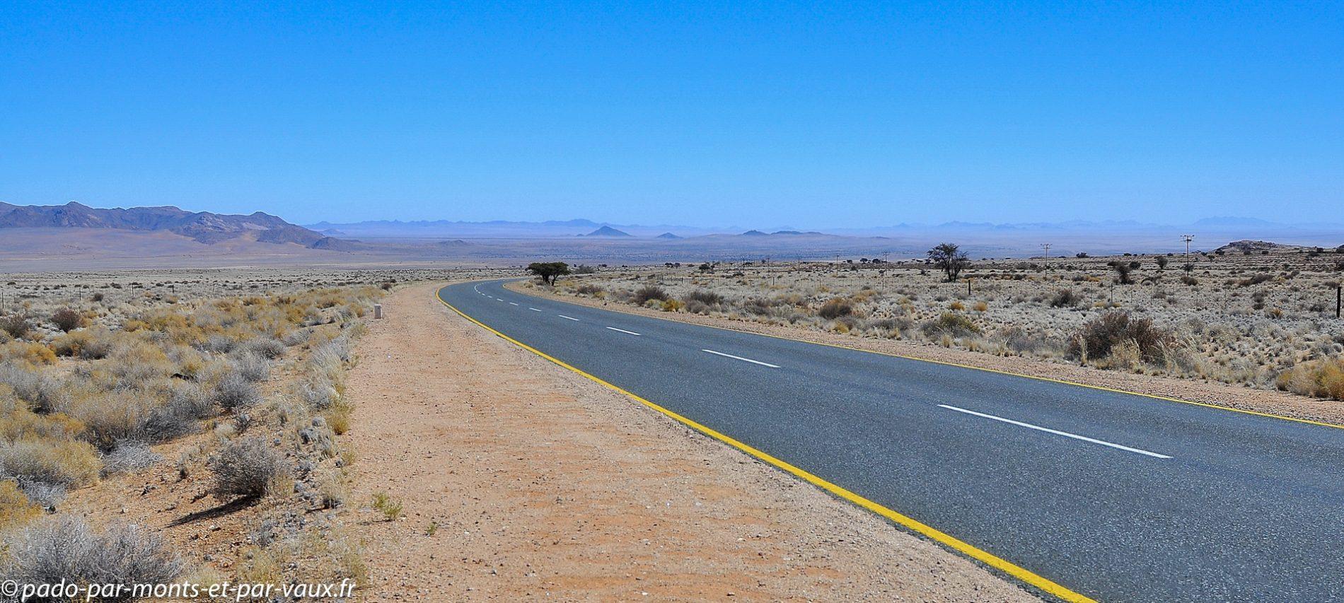 route vers Lüderitz