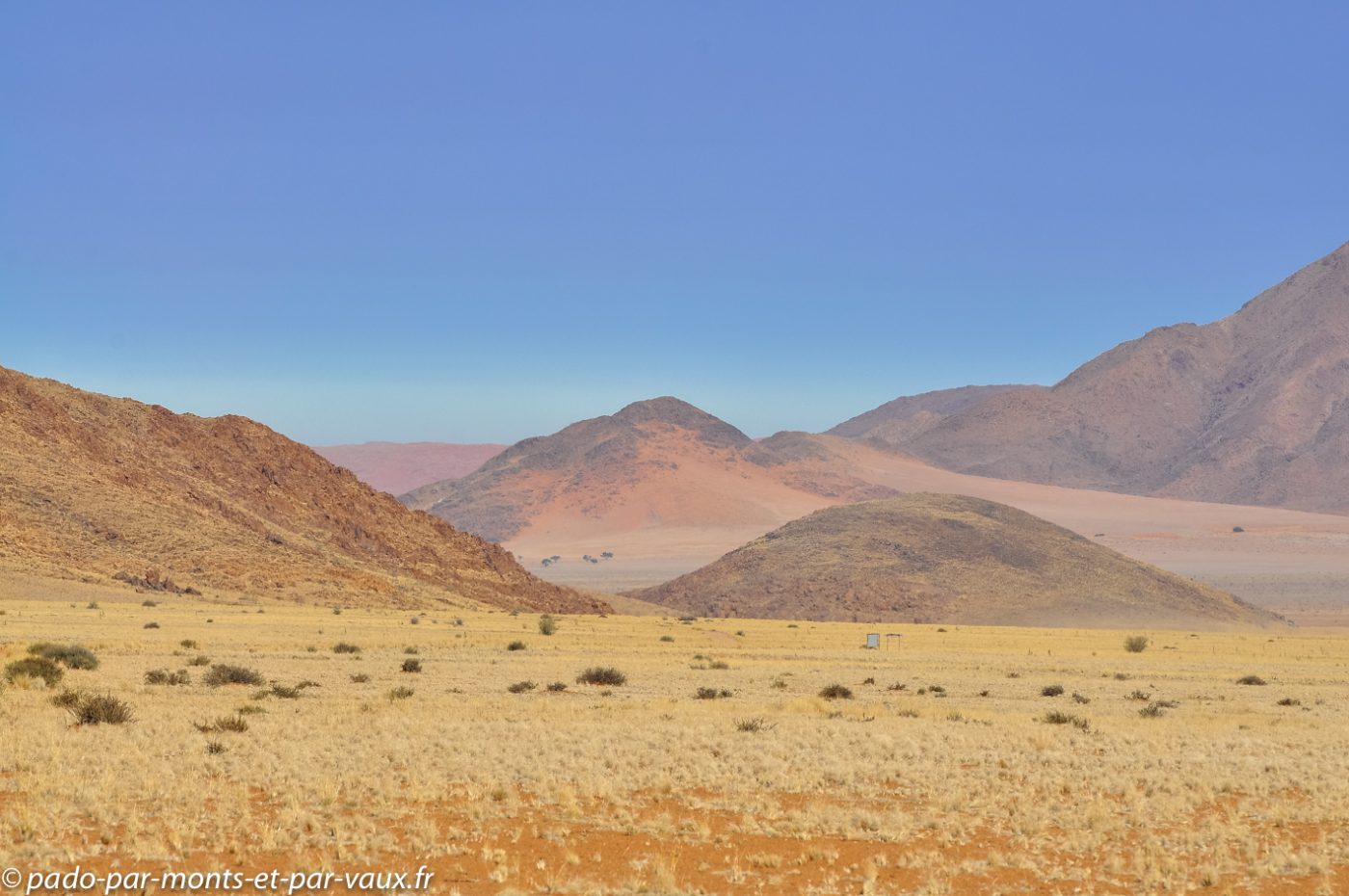 route en direction de la Namib Rand reserve