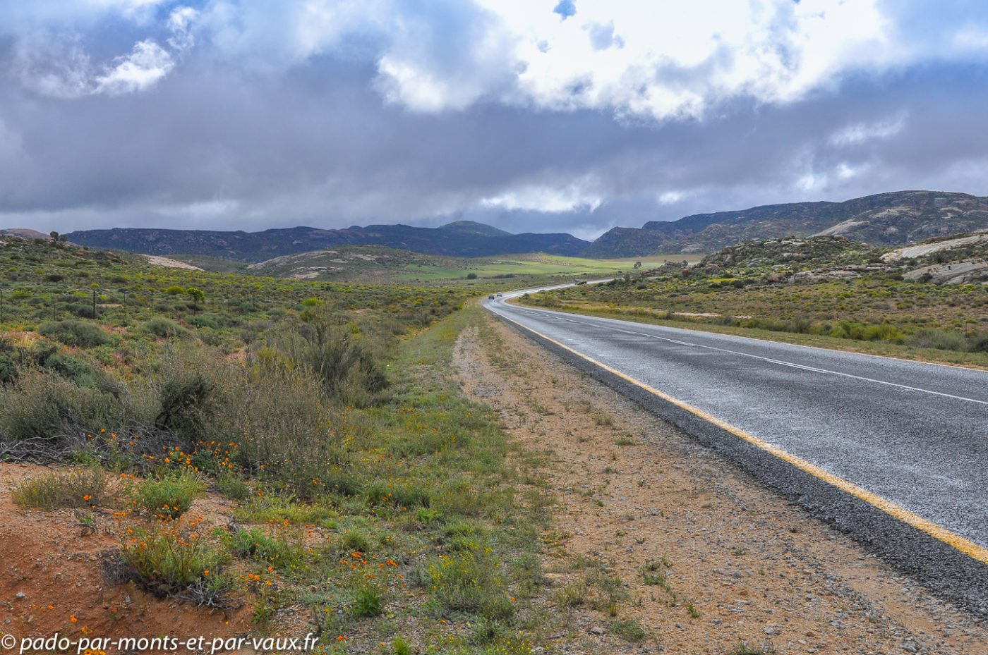 route Clanwilliam - Springbok