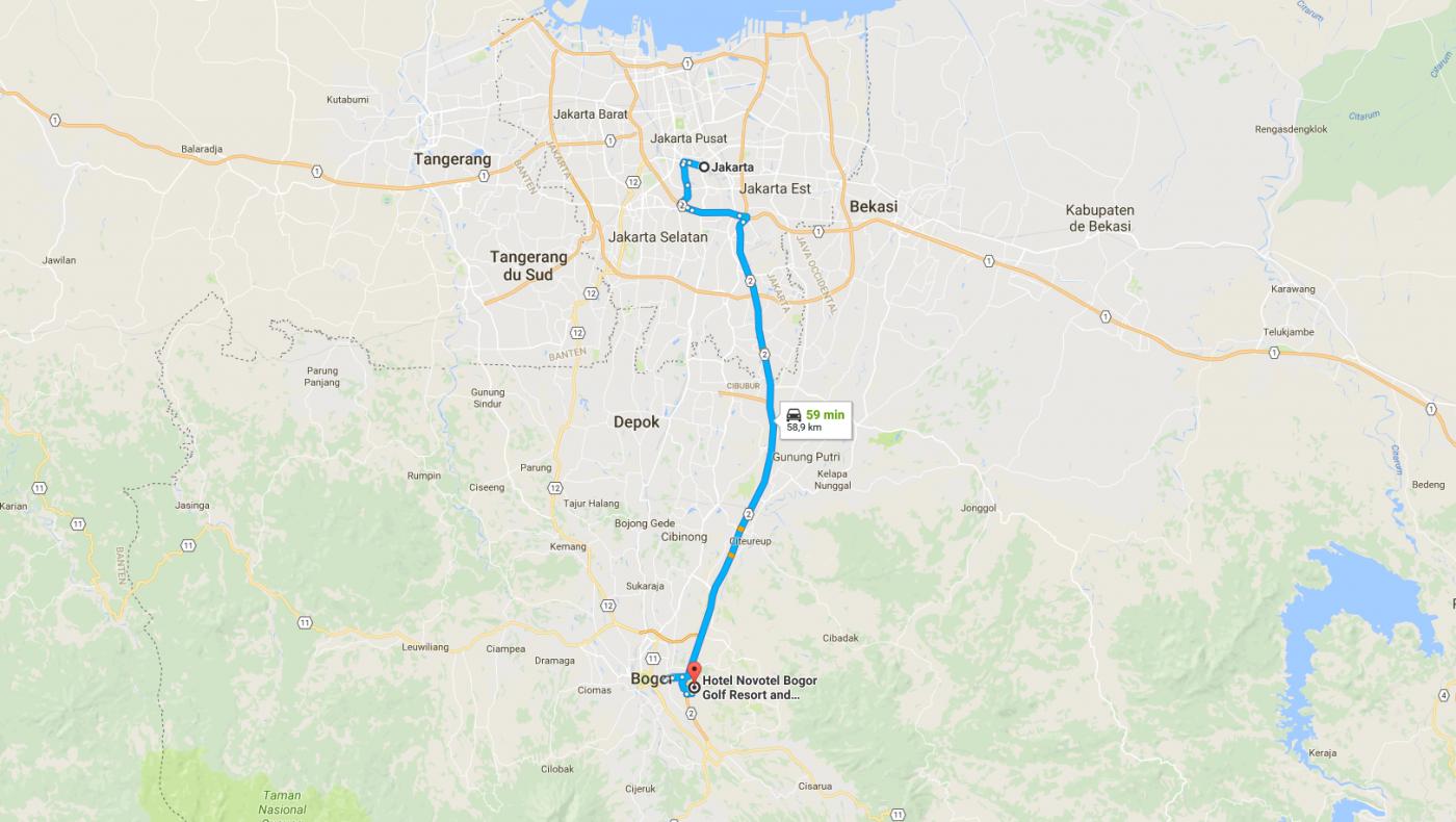 Jakarta - Bogor