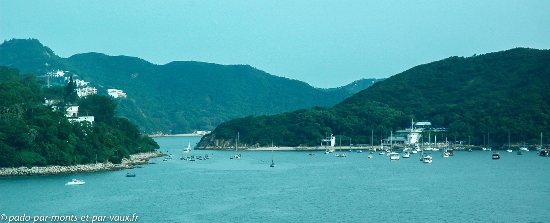 Sud de l'île de Hong Kong