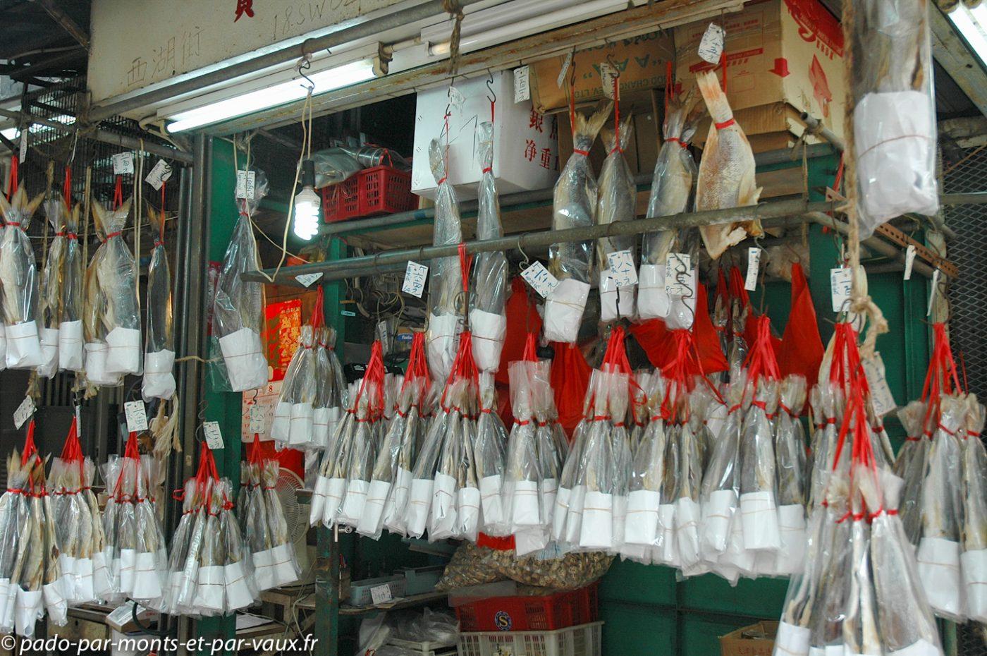 Hong Kong - Central - Marché aux poissons