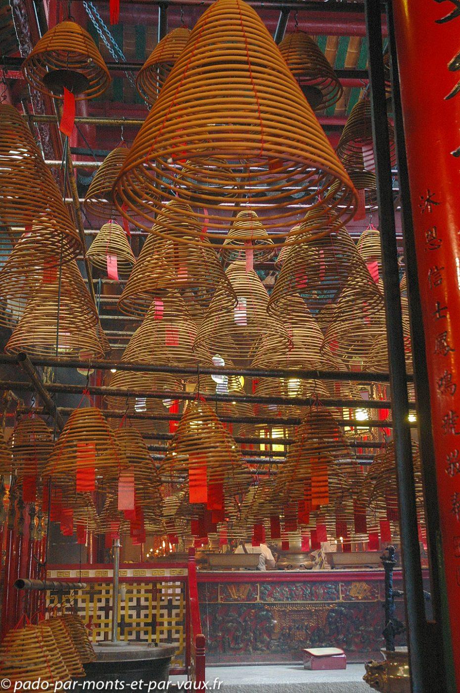 Hong Kong - Man Mo Temple